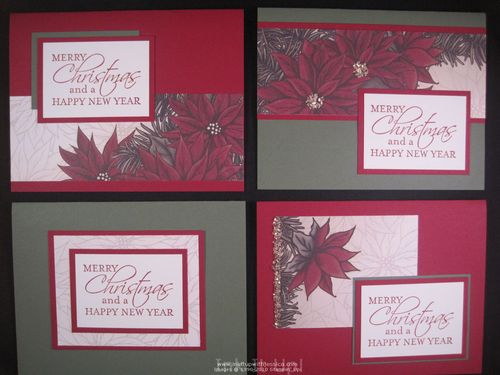 nov28 5 One Sheet Wonder Christmas Cards
