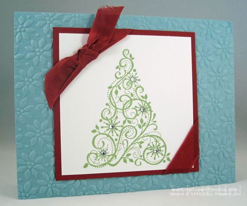 Handmade Christmas Cards Ink It Up With Jessica Card