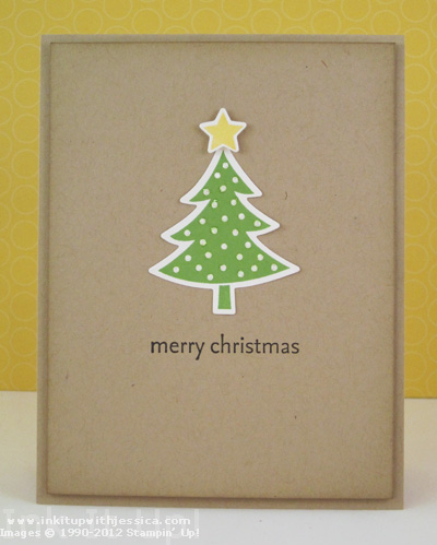 easy christmas card design ink it up with jessica