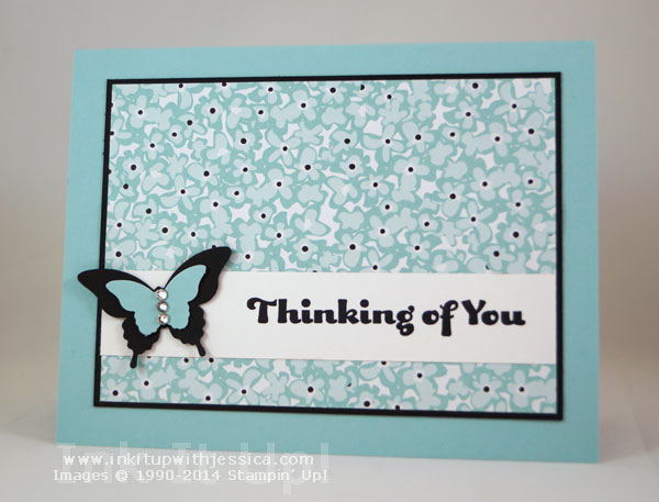 Butterfly Thinking of You Cards of Encouragement