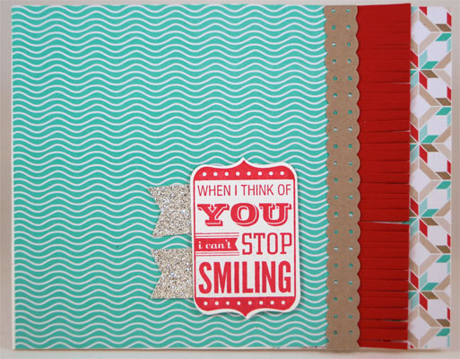 Cant Stop Smiling Card Stampin Up! Leadership 2014 Card Swaps