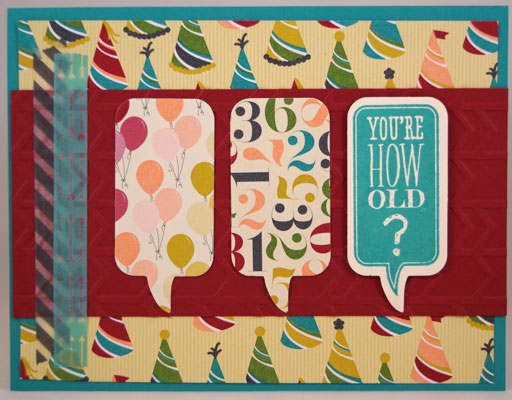 How Old Card Stampin Up! Leadership 2014 Card Swaps