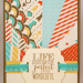 Life Sunburst Card 75x75 Stampin Up! Leadership 2014 Card Swaps