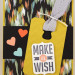 Make a Wish Card 75x75 Stampin Up! Leadership 2014 Card Swaps