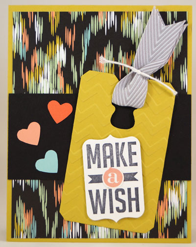 Make a Wish Card Stampin Up! Leadership 2014 Card Swaps