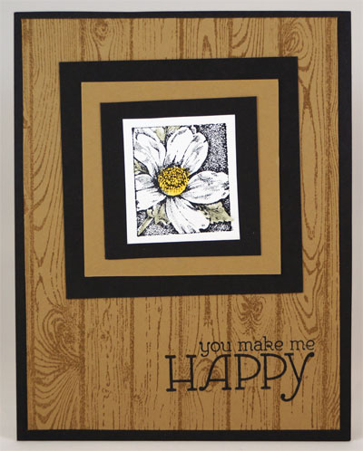 You Make Me Happy Card Stampin Up! Leadership 2014 Card Swaps