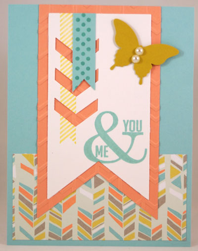 YouMe Card Stampin Up! Leadership 2014 Card Swaps