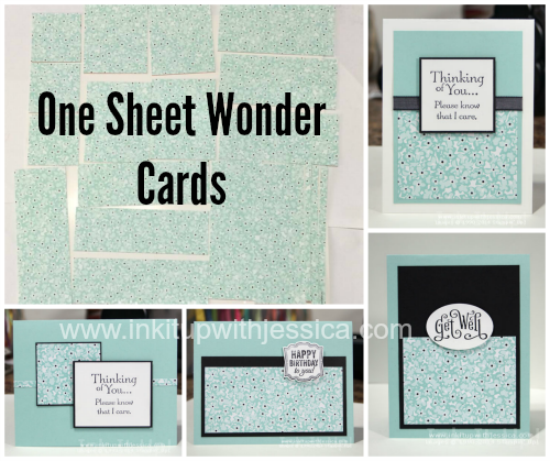 OSW Cards Pretty, Pretty Paper One Sheet Wonder Cards