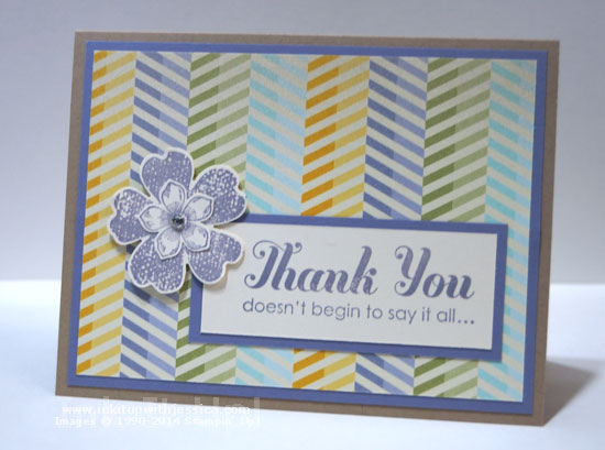 SBS Thank You Card Shoe Box Swap Cards