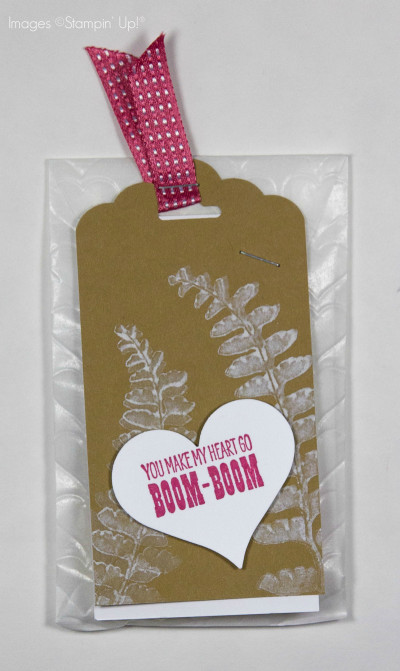 Stampin' Up! Leadership 2015 Swap Cards - Ink It Up! with ...You Make My Heart Go Boom Boom