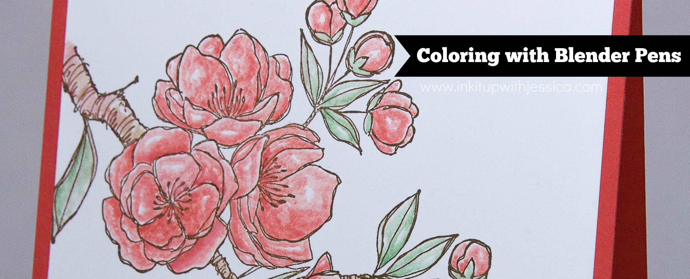 Coloring with Blender Pens