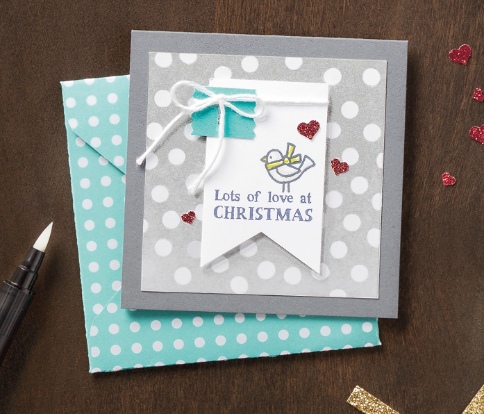 Lots of Love Christmas Card