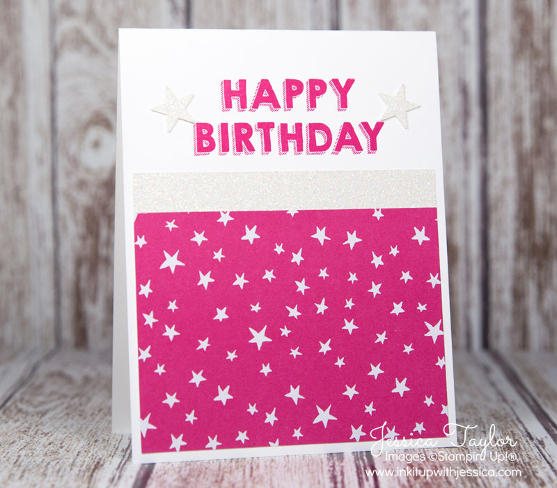 Party Wishes Star Birthday Card
