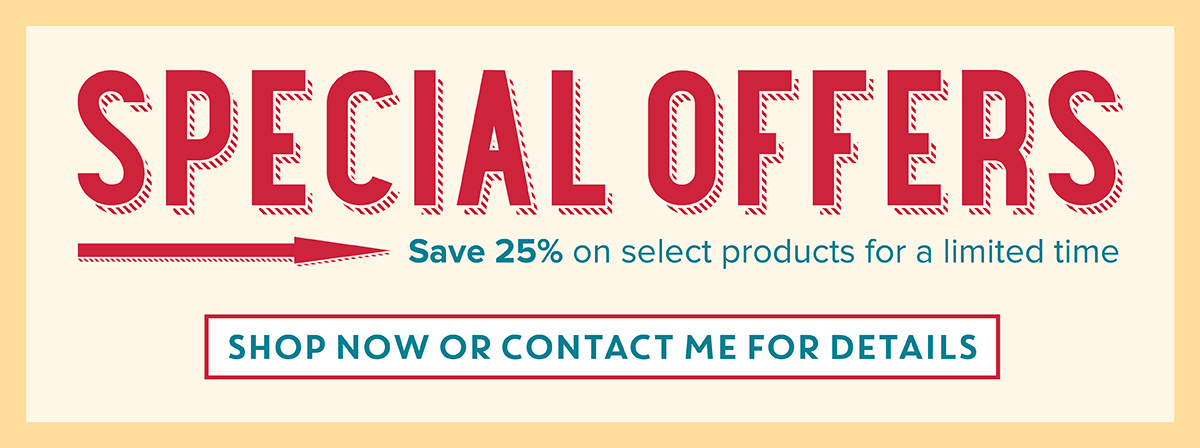 Save up to 25% Off Select Products Sept 1-21