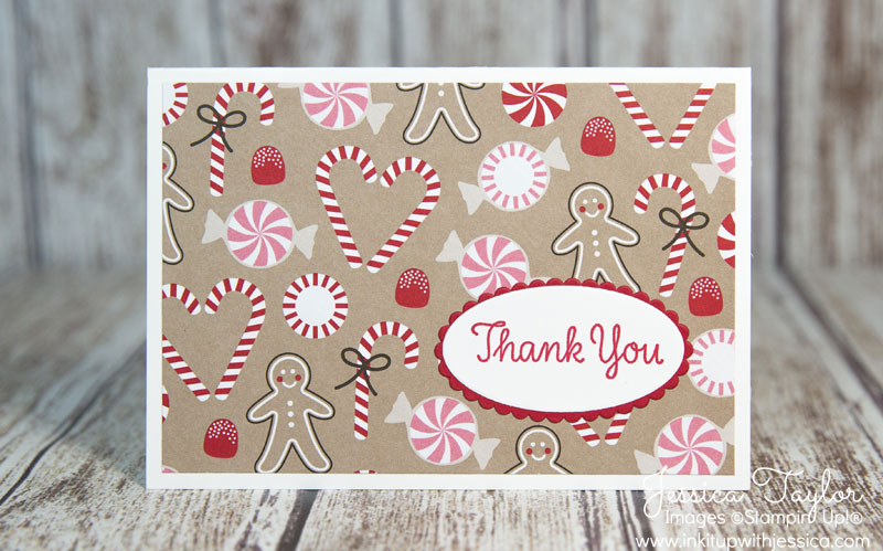 quick  easy thank you note cards  ink it up with
