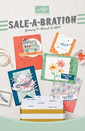2017 Stampin' Up! Sale-A-Bration Catalog