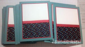 Mass Produce Handmade Cards Step6 Tips for Mass Producing Handmade Cards