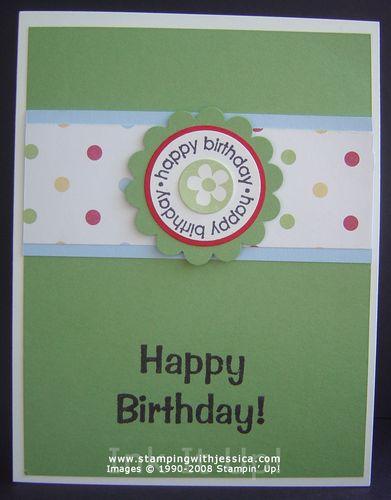 I got more hand stamped birthday cards ink it up with jessica i got more hand stamped birthday cards m4hsunfo