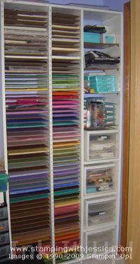 Craft Supply Organization Paper Storage Ideas Ink It Up