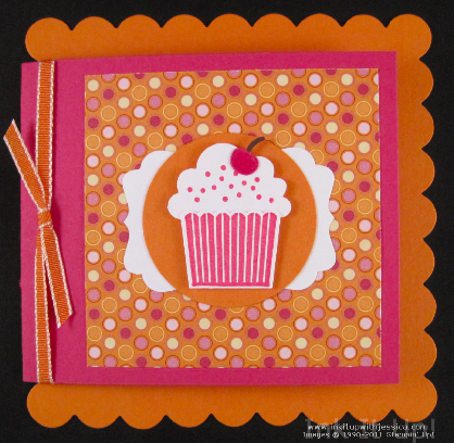 Fun Birthday Card Idea Ink It Up With Jessica Card Making Ideas
