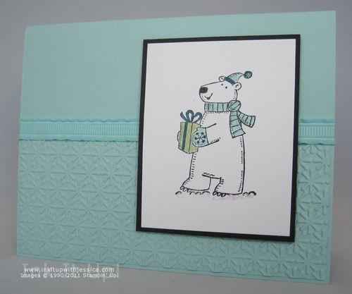 Polar Bear Christmas OR Birthday Card Ink It Up with Jessica – 13 Birthday Card Ideas