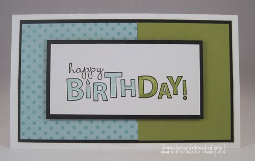 Birthday Card Inspired By Pottery Barn Teen Ink It Up With Jessica