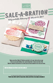 2017 Stampin' Up! Sale-A-Bration