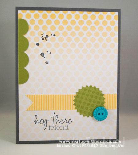 Paper Pumpkin Welcome Kit Card