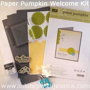 Paper Pumpkin Welcome Kit