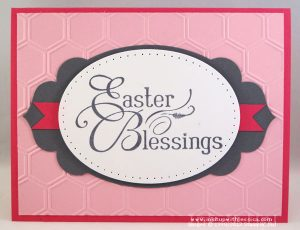 Easter Card Pink
