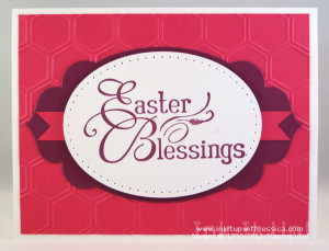 Easter Card Hot Pink