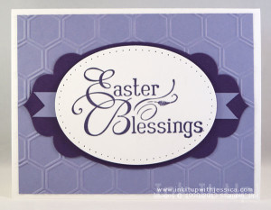 Easter Card Purples