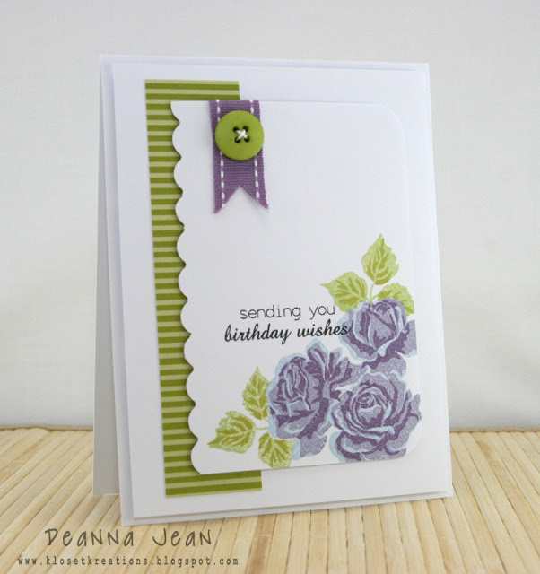 Ordinary Pinterest Card Making Ideas Part - 2: Card By Deanna Jean At Kloset Kreations
