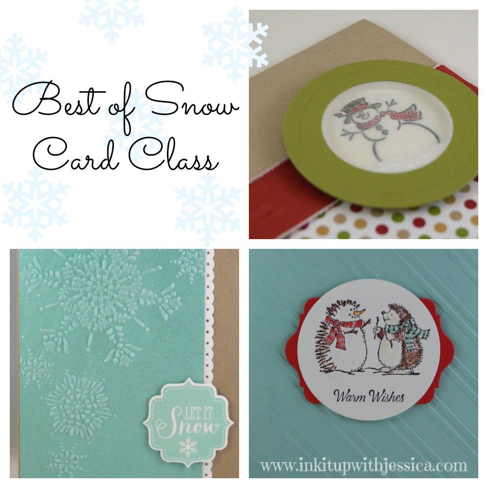 Best of Snow Card Class