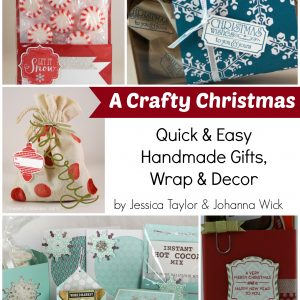 Crafty Christmas Book Cover