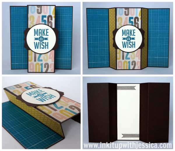 Make a Wish Fun Fold Card