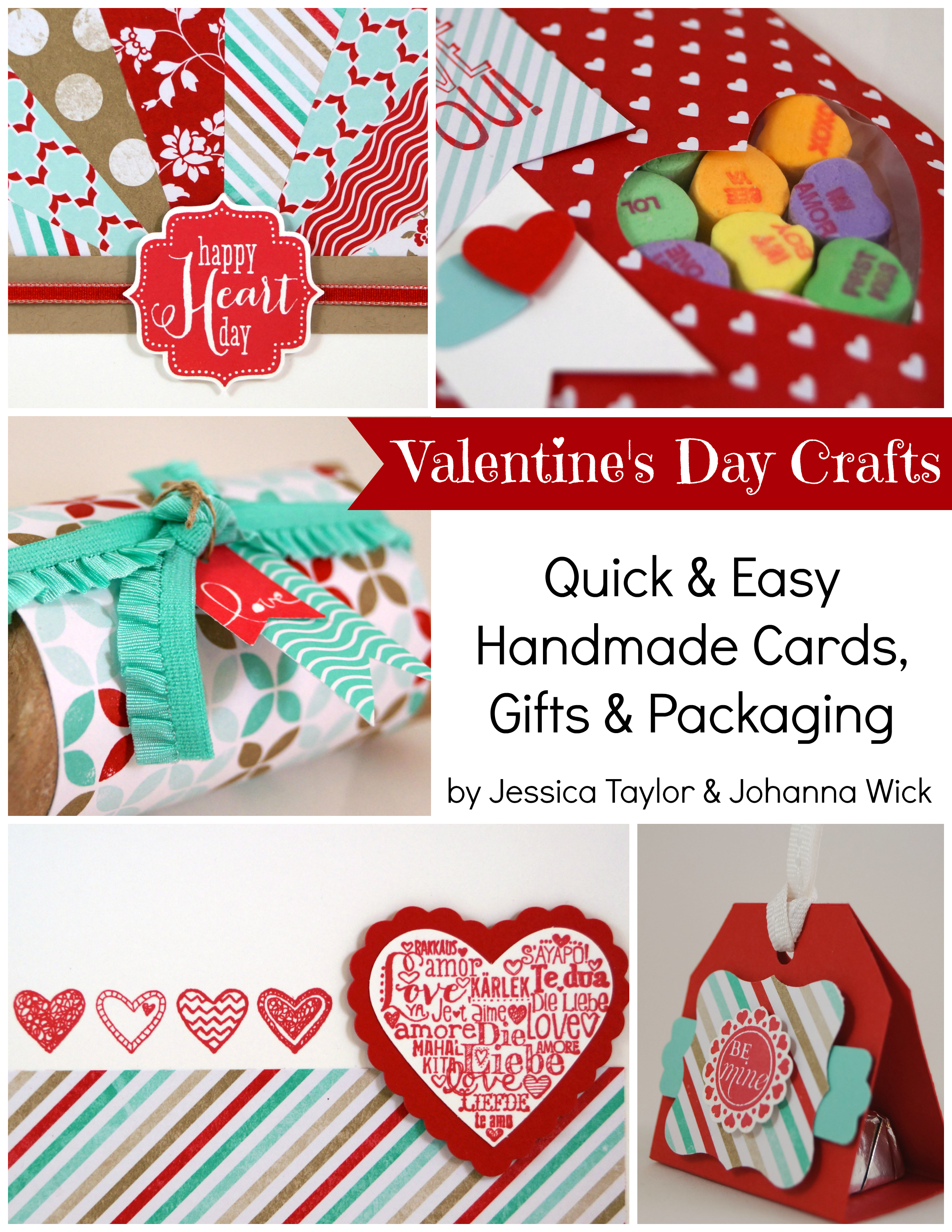 Valentines Day Crafts Ink It Up with Jessica – Valentines Card Making