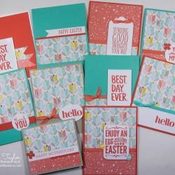 Spring One Sheet Wonder Class Cards