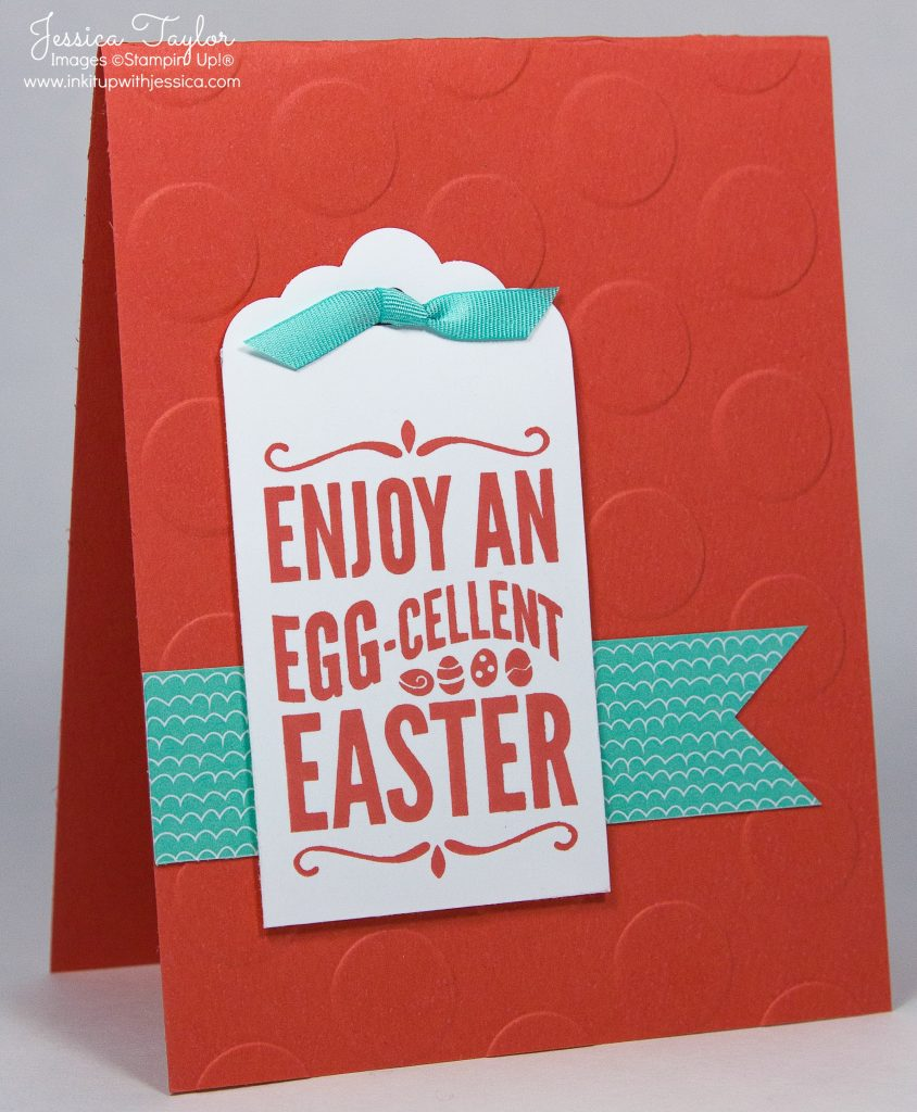 Enjoy An Egg-cellent Easter Card by Jessica Taylor with For Peep's Sake stamp set from Stampin' Up!
