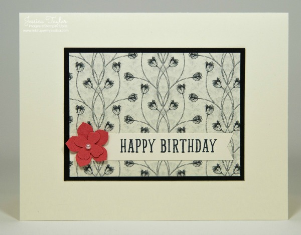 Timeless Elegance Birthday Card Ink It Up With Jessica Card