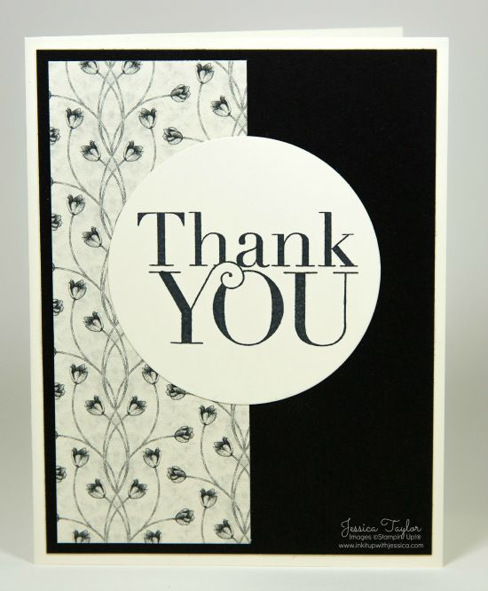 Ideas For Making Thank You Cards Part - 29: Timeless Elegance Thank You Card