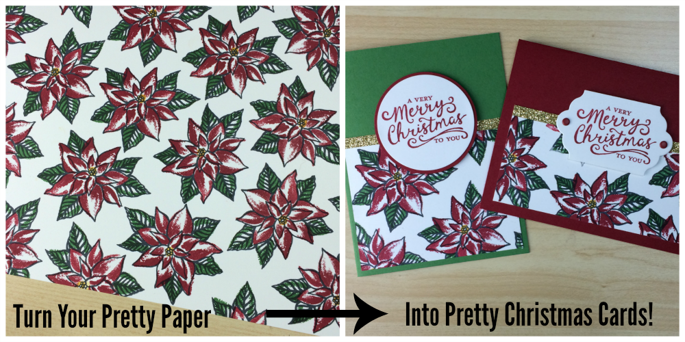 Christmas One Sheet Wonder Class - Ink it Up With Jessica | Card ...