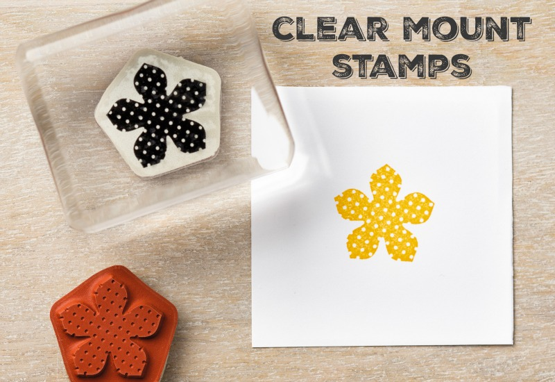Stampin Up Clear Mount Stamps