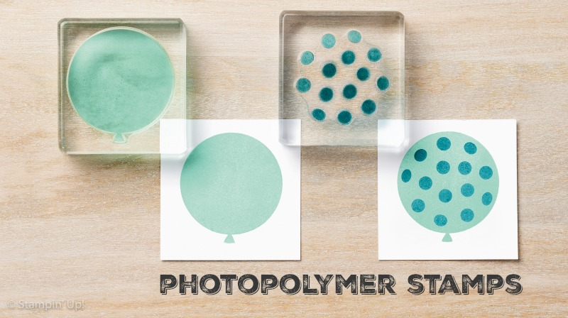 Stampin Up photopolymer stamps