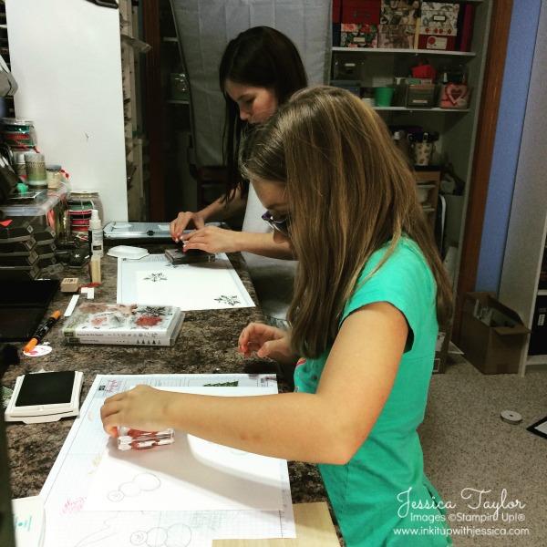 Kids Stamping