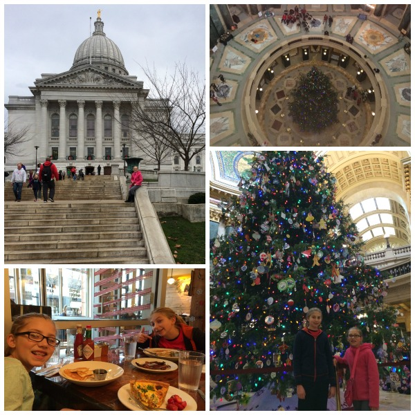 Wisconsin Capitol Christmas