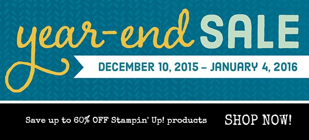 Stampin' Up!'s Year End Clearance Sale