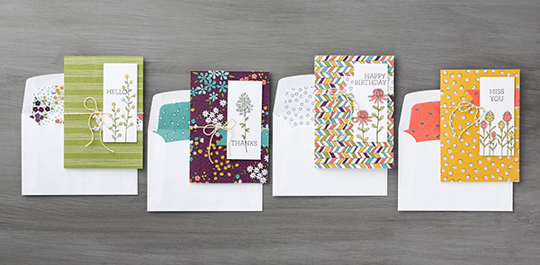 Tips for Making Cards with Pretty Papers