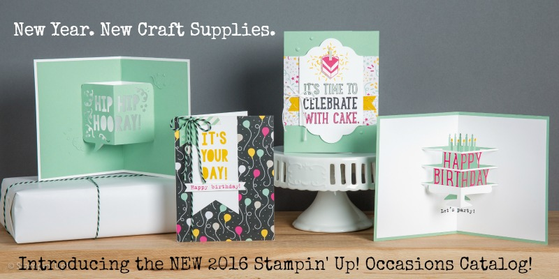 New Products & FREE Stamps!!! It All Starts Today.