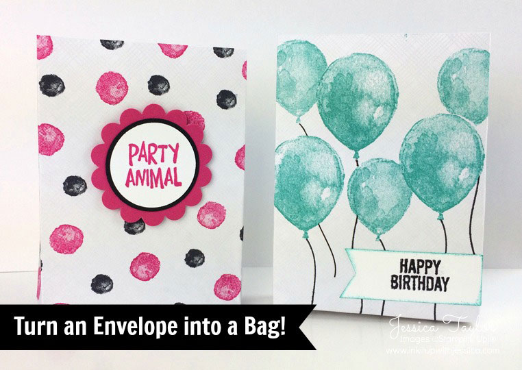 Bag-a-lopes: How to turn an envelope into a bag!